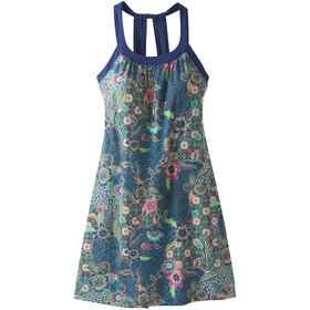 Prana Cantine Dress Women blue anchor kona